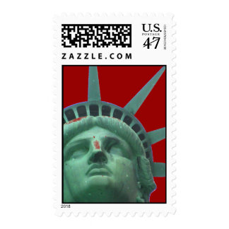Pop Art Statue of Liberty Postage
