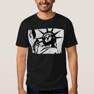 Pop Art Statue of Liberty Shirt