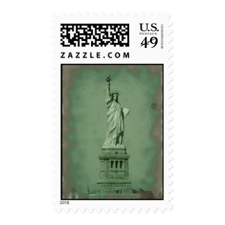 Pop Art Statue of Liberty Stamps