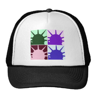 Pop Art Statue of Liberty Trucker Hat