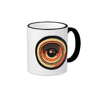 Pop Art Style Audio Speaker Ringer Mug