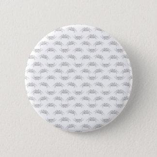 Pop Art Style Crabs Motif Pattern Pinback Button