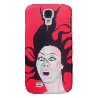 Pop art style girl iphone case samsung galaxy s4 case