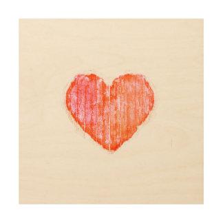 Pop Art Style Grunge Graphic Heart
