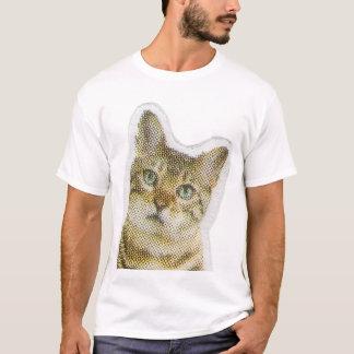 Pop-art Style Pixel Cat T-Shirt