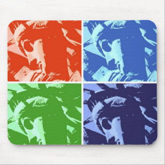Pop Art Style Statue of Liberty New York Mouse Pad
