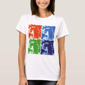 Pop Art Style Statue of Liberty New York T-Shirt