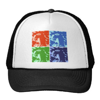Pop Art Style Statue of Liberty New York Trucker Hat