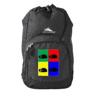 Pop Art Tabby Cat Backpack