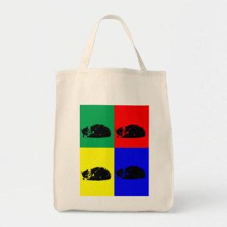 Pop Art Tabby Cat Bag