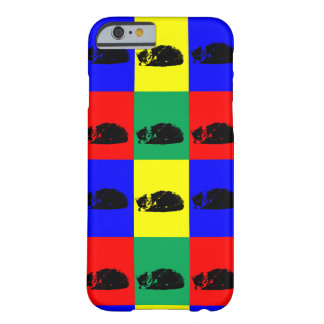 Pop Art Tabby Cat Barely There iPhone 6 Case