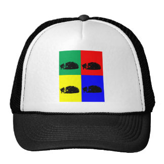 Pop Art Tabby Cat Hat