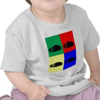 Pop Art Tabby Cat Shirt