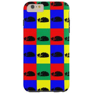 Pop Art Tabby Cat Tough iPhone 6 Plus Case