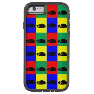 Pop Art Tabby Cat Tough Xtreme iPhone 6 Case