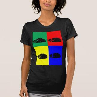 Pop Art Tabby Cat Tshirt