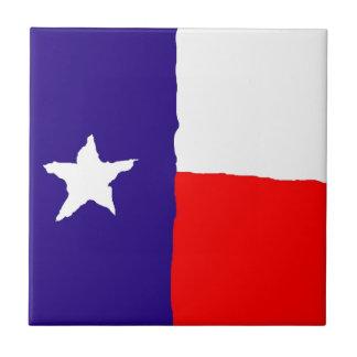 Pop Art Texas State Flag Ceramic Tile