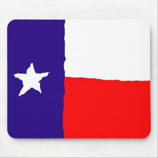 Pop Art Texas State Flag Mouse Pad