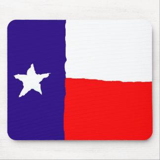 Pop Art Texas State Flag Mousepads