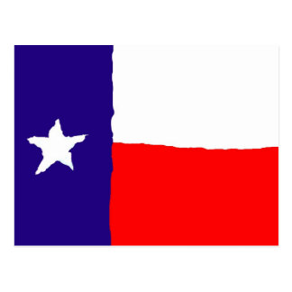 Pop Art Texas State Flag Postcard