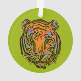 Pop Art TIGER HEAD + your backgr. & ideas