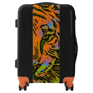 Pop Art TIGER HEAD + your backgr. & ideas Luggage