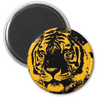 Pop Art Tiger Magnet
