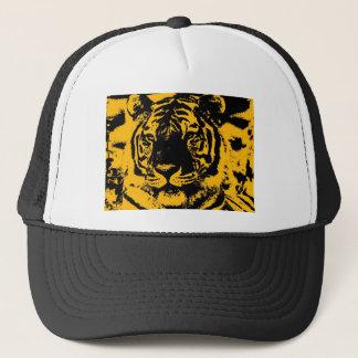 Pop Art Tiger Trucker Hat