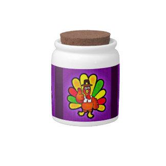 Pop Art Tom Turkey Candy Jars