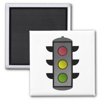 Pop Art Traffic Light Magnet