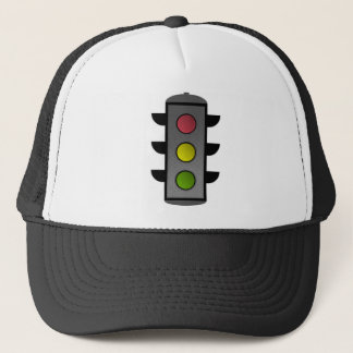 Pop Art Traffic Light Trucker Hat