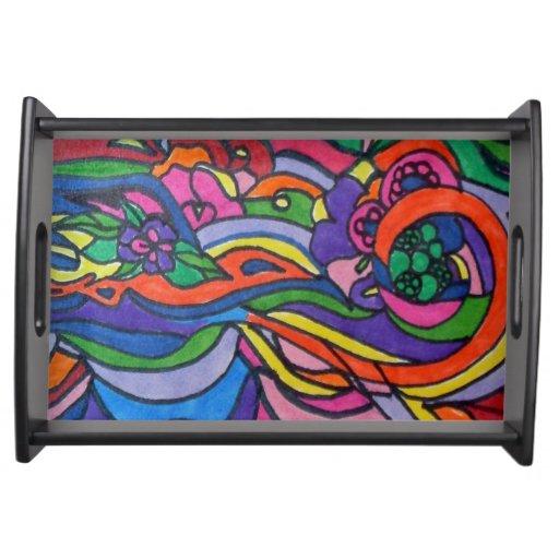 Pop Art Tray