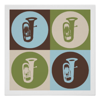 Pop Art Tuba Print