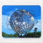 Pop Art Unisphere Mousepad