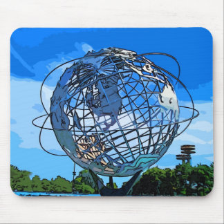 Pop Art Unisphere Mousepad