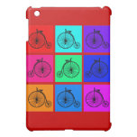 Pop Art Vintage Two Wheeler Bike Apparel iPad Mini Cases