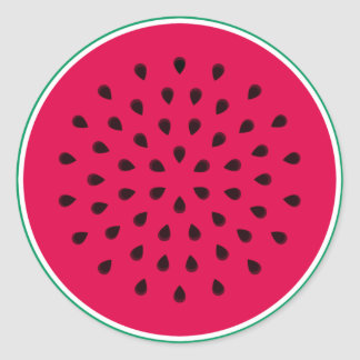 Pop art Watermelon Stickers
