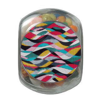 Pop Art Wave Jelly Belly Candy Jar