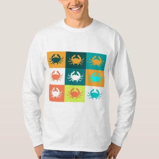 Pop Art with Crabs 6 T Shirt