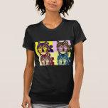 Pop Art Wolf T Shirts
