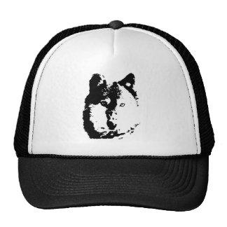Pop Art Wolf Trucker Hat