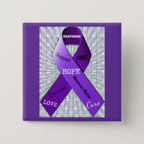 Pop Art Words of Hope Button