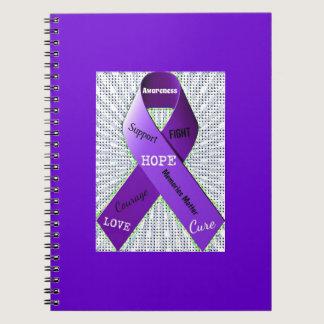 Pop Art Words of Hope Spiral Notebook