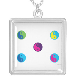 Pop Art Yin Yang Necklace