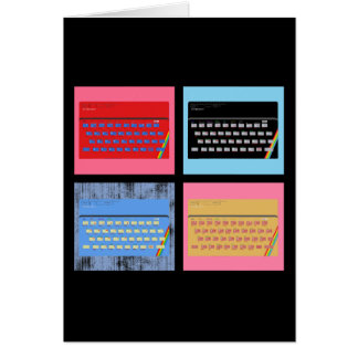 Pop Art ZX Spectrum Card