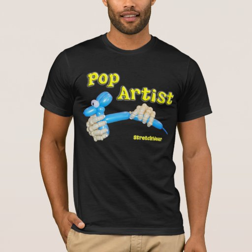 Pop Artist - Balloon Hands making Balloon Dog T-Shirt
