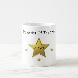 Pop Artist Of The Year-Alexis Coffee Mug