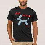 Pop Artist - Simple Balloon Dog T-Shirt