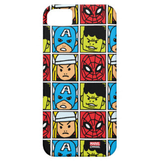Pop Avengers Character Block Pattern iPhone SE/5/5s Case
