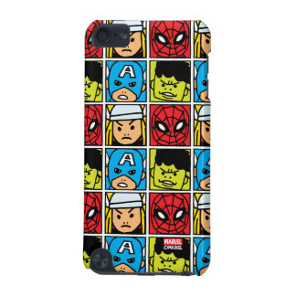 Pop Avengers Character Block Pattern iPod Touch 5G Cover